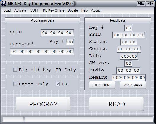 programator kluczy nec